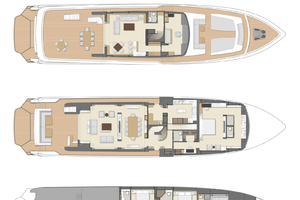 115' Johnson SKYLOUNGE w/FB w/ON-DECK MASTER 2020