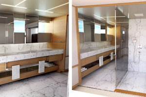 115' Johnson SKYLOUNGE w/FB w/ON-DECK MASTER 2020 Master Bath