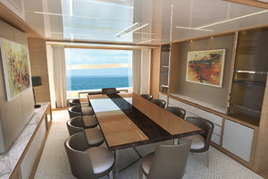 115' Johnson Skylounge W/fb W/on-deck Master 2019 Dining