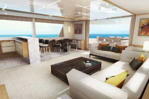 115' Johnson SKYLOUNGE w/FB w/ON-DECK MASTER 2020 Skylounge
