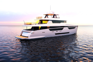 115' Johnson Skylounge W/fb W/on-deck Master 2019 Starboard Aft