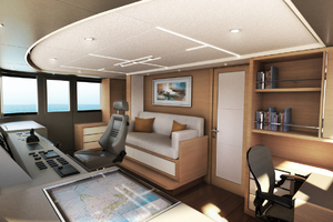 115' Johnson Skylounge W/fb W/on-deck Master 2019 Wheelhouse