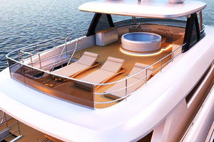 115' Johnson Skylounge W/fb W/on-deck Master 2019 Flybridge Aft