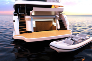 115' Johnson SKYLOUNGE w/FB w/ON-DECK MASTER 2020 Beach Club