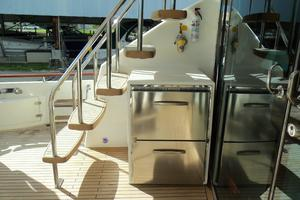 74' Fairline Squadron 2007 AFT DECK REFRIGERATION