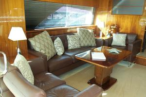 74' Fairline Squadron 2007 SALON TO PORT FORWARD
