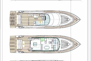 83' Johnson Flybridge w/Hydraulic Platform 2020