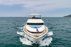 80' Johnson 80' Flybridge w/Hydraulic Platform 2019