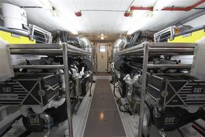 110' Johnson 110' Skylounge W/on-deck Master 2020 Engine Room