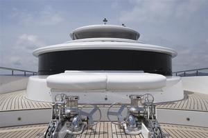 110' Johnson 110' Skylounge W/on-deck Master 2020 Twin Anchor System