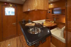 110' Johnson 110' Skylounge W/on-deck Master 2020 Crew Galley