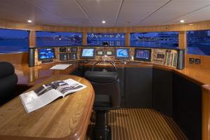 110' Johnson 110' Skylounge W/on-deck Master 2020 Pilothouse