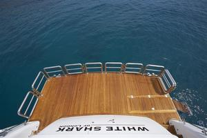 110' Johnson 110' Skylounge W/on-deck Master 2020 Swim Platform