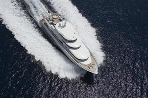 110' Johnson 110' Skylounge W/on-deck Master 2020 At Speed
