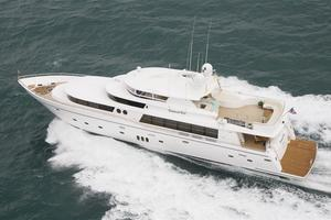 110' Johnson 110' Flybridge w/On-Deck Master 2020 At Sea