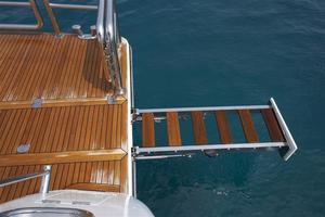 110' Johnson 110' Flybridge w/On-Deck Master 2020 Swim Ladder