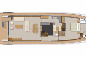 95' Johnson Flybridge W/on-deck Master 2020 MAIN DECK OPTIONAL