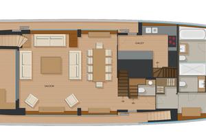 92' Johnson Flybridge W/on-deck Master 2020 Main deck owner