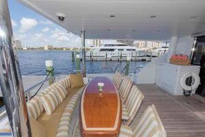 96' Hargrave Capri Skylounge 2004 Aft Deck Looking to Port