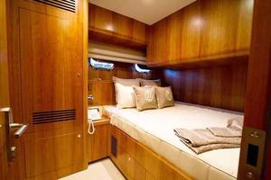 70' Johnson Skylounge Motor Yacht 2019 Crew cabin