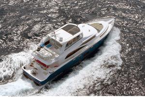 80' Johnson Flybridge W/fishing Cockpit 2020 At sea
