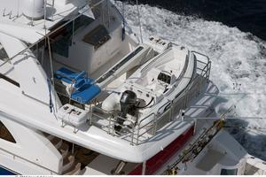 80' Johnson Flybridge W/fishing Cockpit 2020 Boat deck