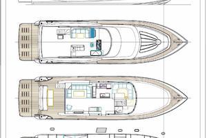80' Johnson Flybridge W/fishing Cockpit 2020