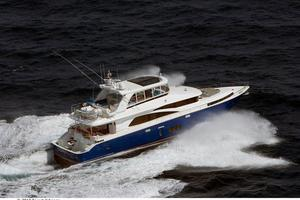 80' Johnson Flybridge w/Fishing Cockpit 2020 Running