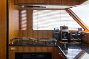 70' Marlow 70 Explorer Command Bridge 2008 Galley Appliances
