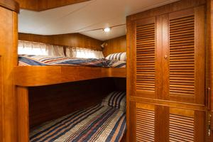 70' Marlow 70 Explorer Command Bridge 2008 Guest Bunks