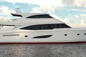 Viking 93 Motoryacht - Side Profile