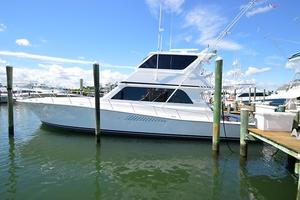58' Viking 58 Enclosed Bridge Convertible 1997