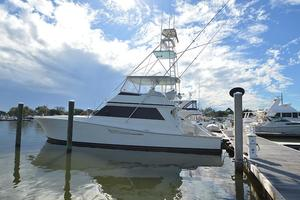 57' Viking Convertible 1990 Port Profile