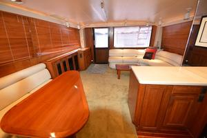 57' Viking Convertible 1990 Looking Aft