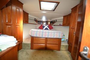 57' Viking Convertible 1990 Master Stateroom
