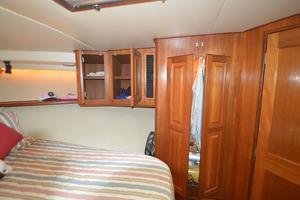 57' Viking Convertible 1990 Master Stateroom Starboard Hanging Locker