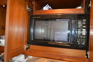 57' Viking Convertible 1990 Microwave