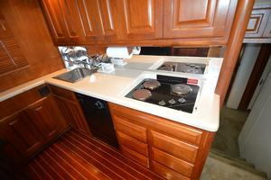 57' Viking Convertible 1990 Galley View #2
