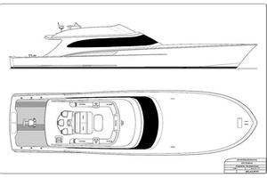 84' Jarrett Bay Custom Carolina Convertible 2019 84' Jarrett Bay Rendering
