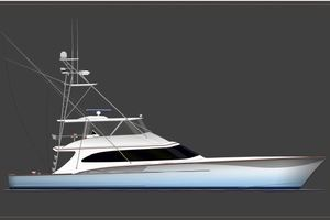 Jarrett Bay 84' Custom Carolina Convertible 2019 Hull #60