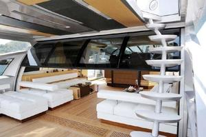 100' Baia One Hundred 2015 Aft Deck