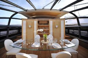 100' Baia One Hundred 2015 Dining