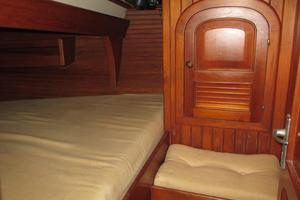 43' Hans Christian Traditional 1985 Exquisite woodwork and large berth