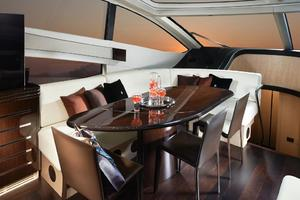 68' Sunseeker Predator 68 2018 Manufacturer Provided Image: Sunseeker Predator 68 Dining