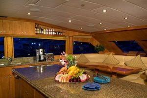 114' Hargrave Raised Pilothouse 2009 Galley
