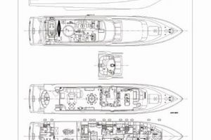 114' Hargrave Raised Pilothouse 2009 Vessel Layout