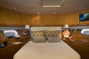 114' Hargrave Raised Pilothouse 2009 Captain's Quarters