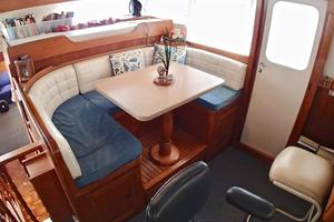 55' American Marine Alaskan 1972 Pilothouse port view