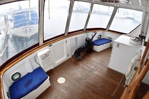 55' American Marine Alaskan 1972 Covered Aft cockpit