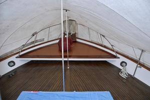 55' American Marine Alaskan 1972 Foredeck with cover